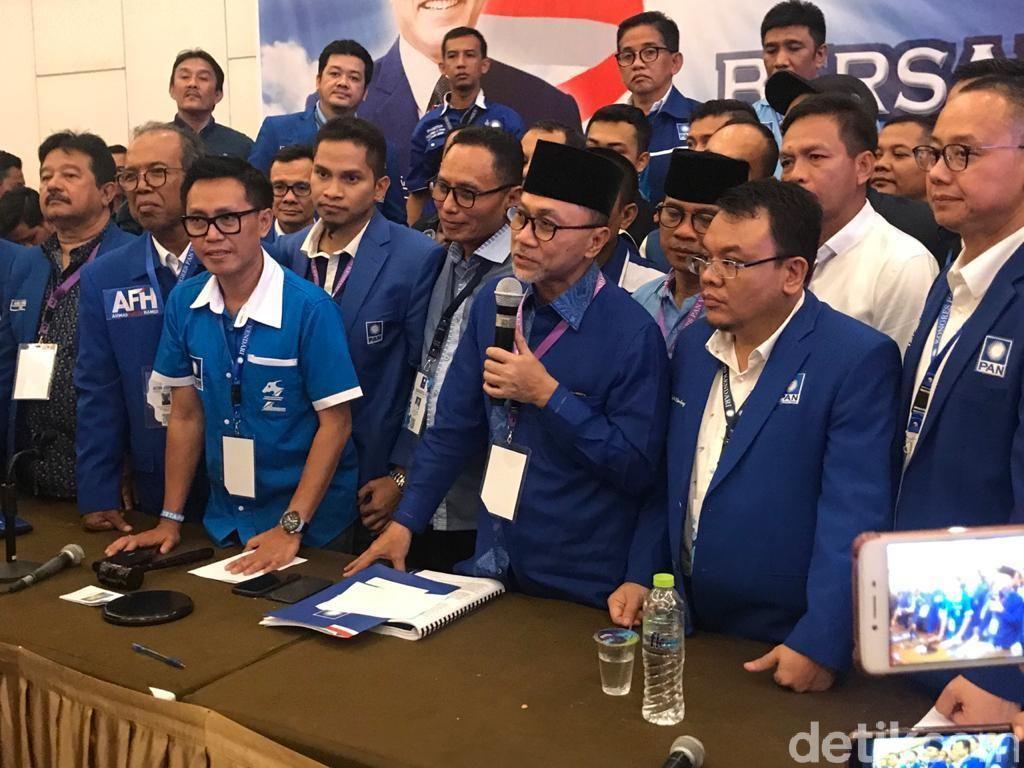Zulhas Ketum PAN Lagi, Hatta Rajasa Jadi Ketua MPP