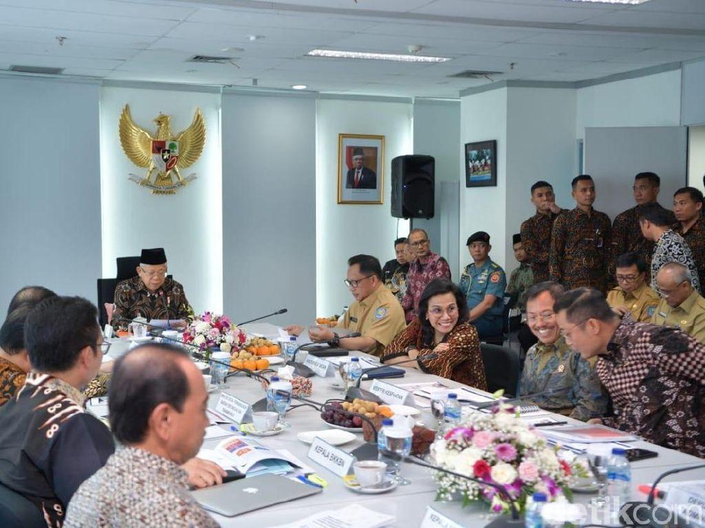 Maruf Kumpulkan Para Menteri Bahas Strategi Penurunan Kemiskinan-Stunting