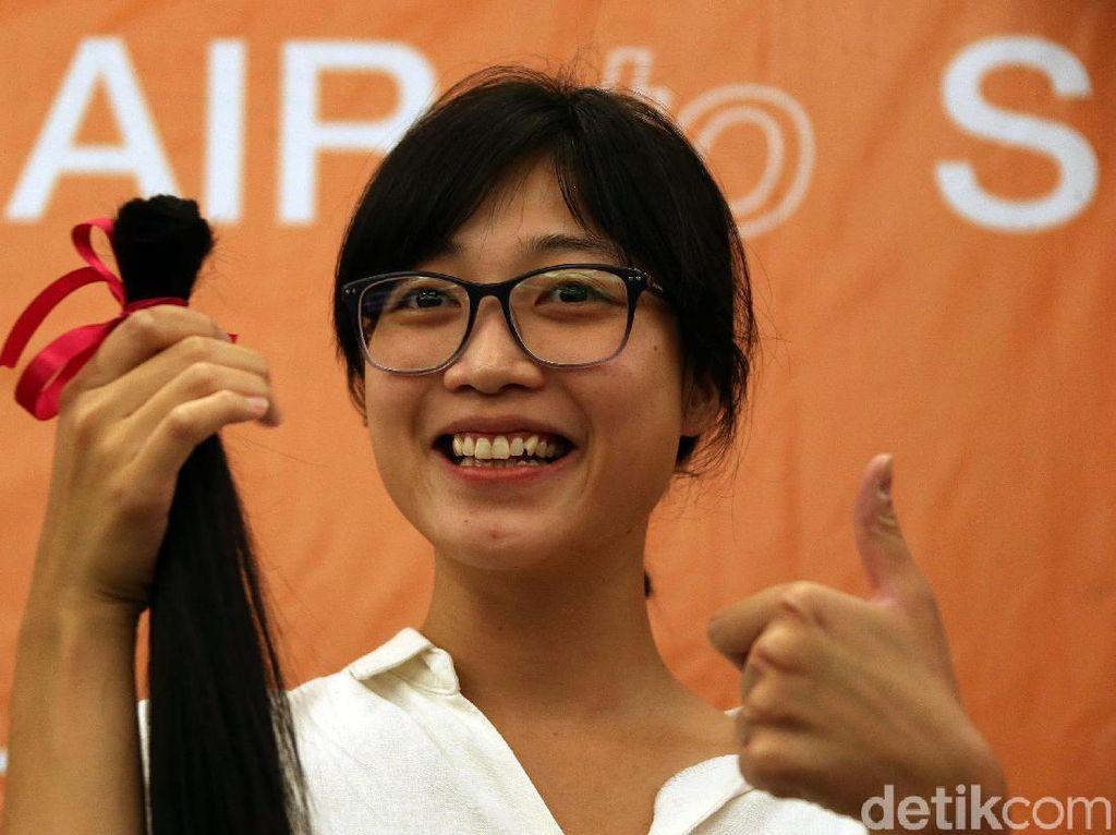 Yuk! Donasikan Rambut untuk Pasien Kanker