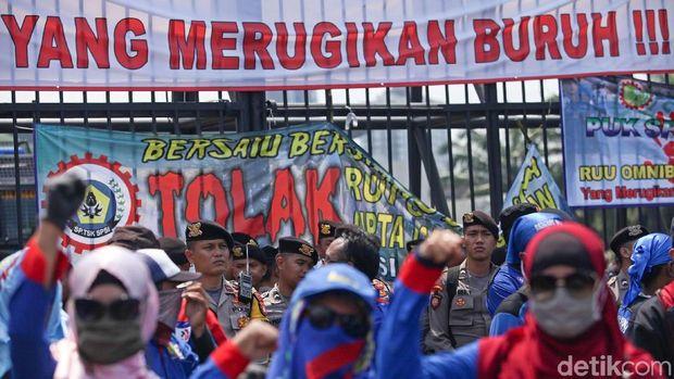 Tiga Serikat Buruh Dicatut dalam Tim Omnibus Law