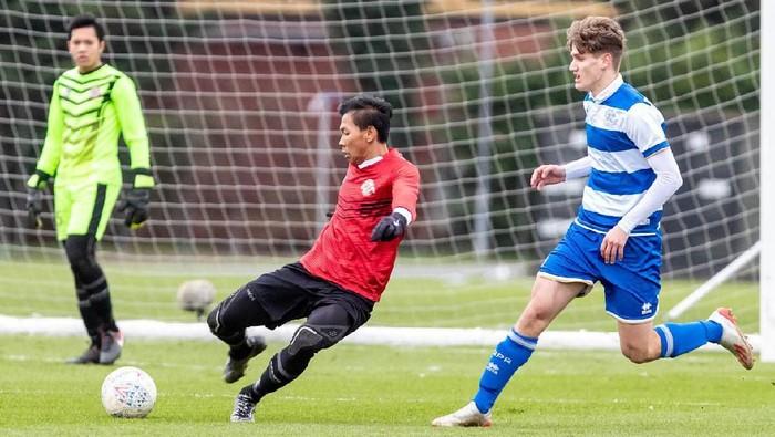 Garuda Select membenahi lini pertahanan usai takluk melawan QPR U18 denganskor 5-8 di London, Inggris.