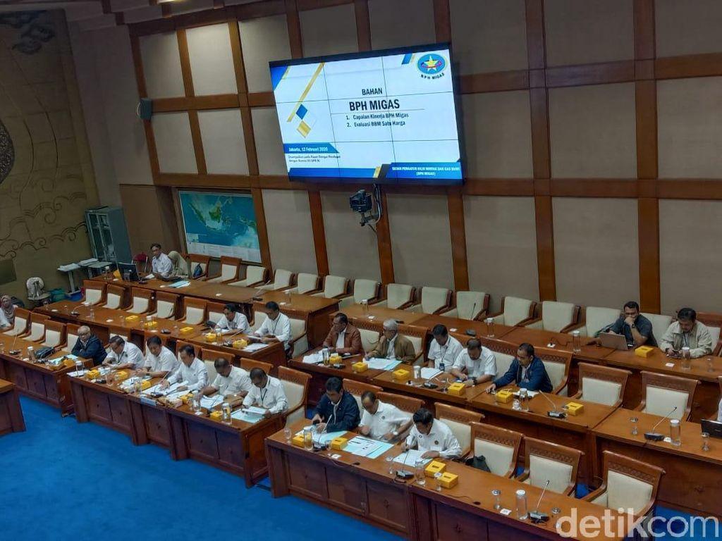 DPR Rapat Bareng BPH Migas Bahas Kinerja 2019