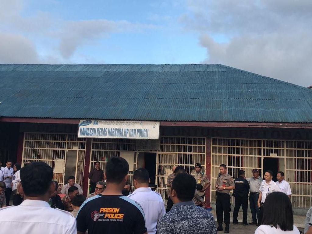 Buntut Ricuh Tahanan, Kepala Rutan Kabanjahe Dicopot