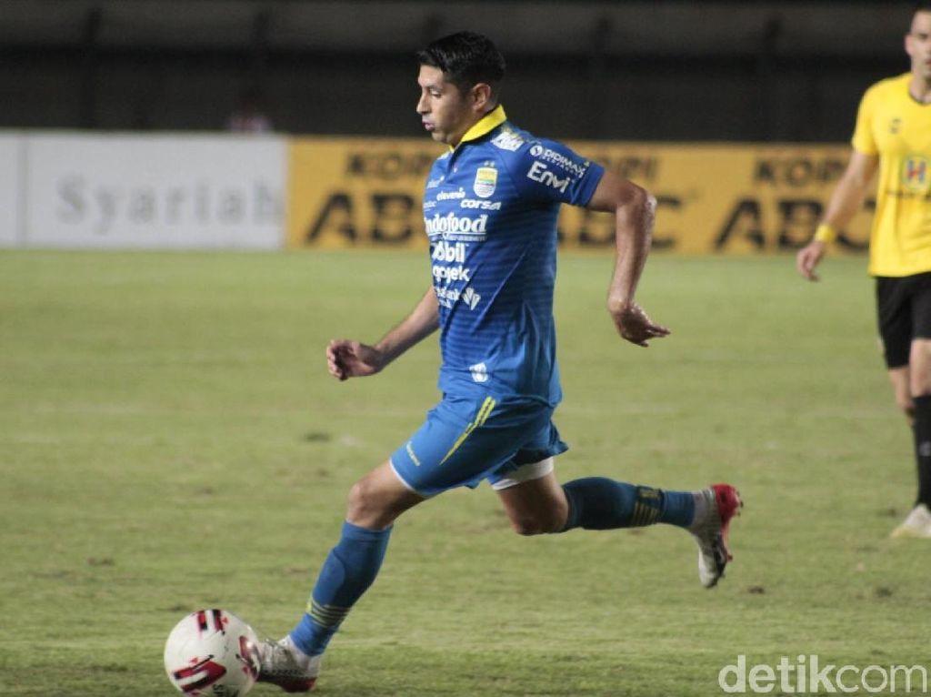 Esteban Vizcarra Bakal Pakai Nomor Keramat Persib Bandung