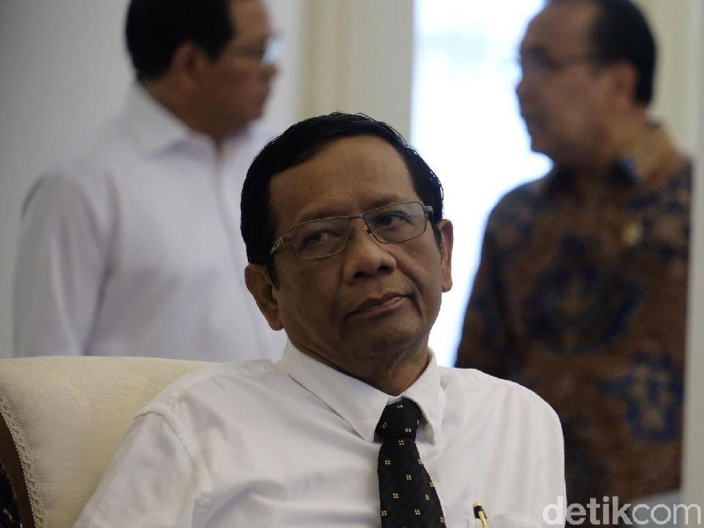 Menko Mahfud soal Survei Menteri Kinerja Terbaik: Prabowo Memang Bagus