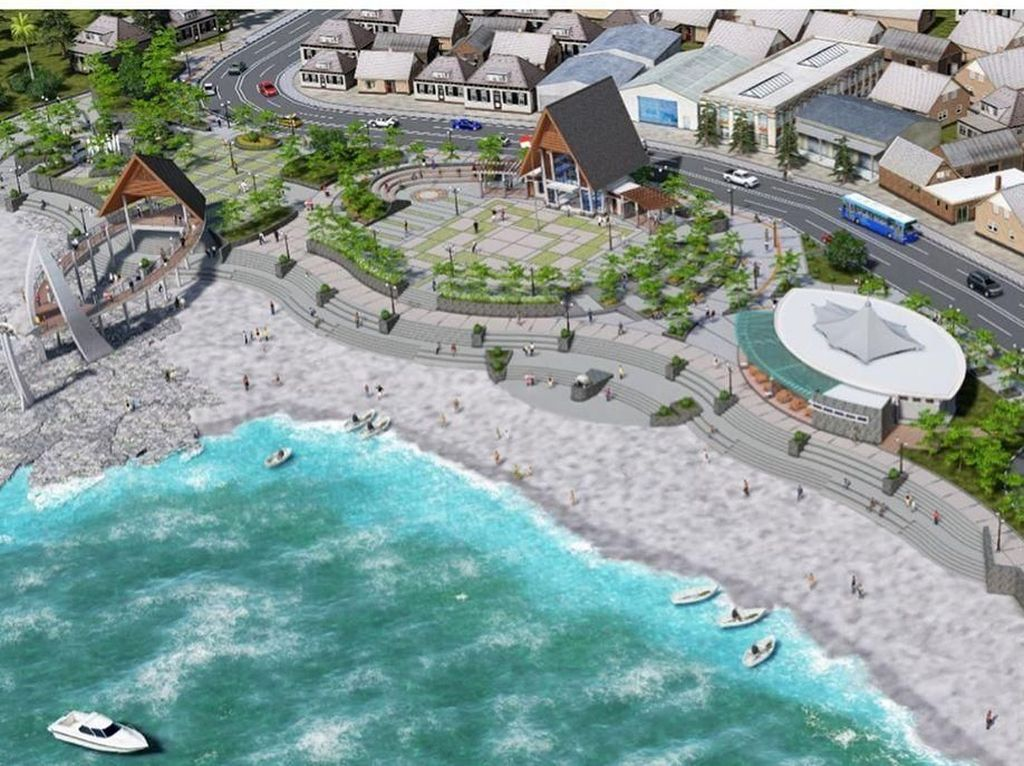Percantik Pantai Palabuhan Ratu, Pemprov Jabar Siapkan Rp 15 M