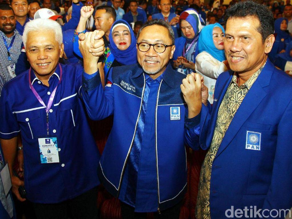 Prabowo Dianggap Finish, PAN Punya Hatta Rajasa-Zulkifli Hasan
