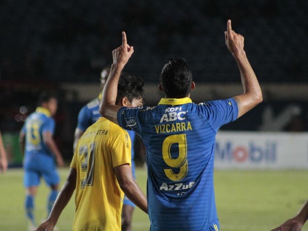 Cetak 2 Gol Selalu Menyenangkan, tapi Vizcarra Tak Mau Besar Kepala