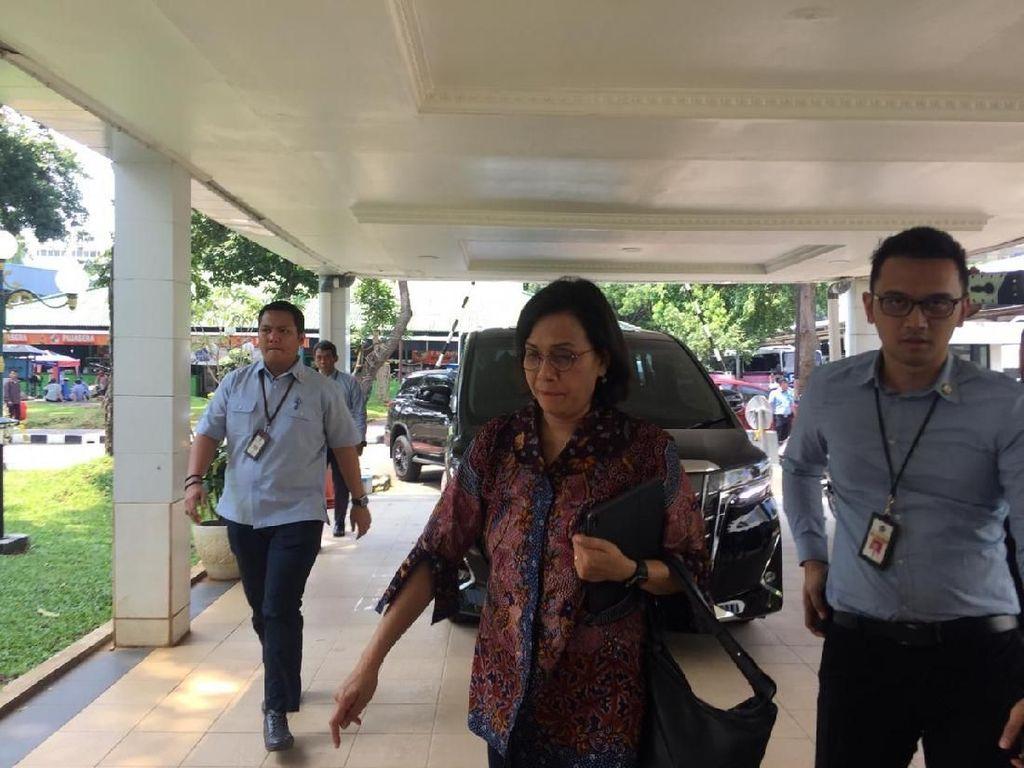 Airlangga hingga Sri Mulyani Sampaikan Draf RUU Cilaka ke DPR