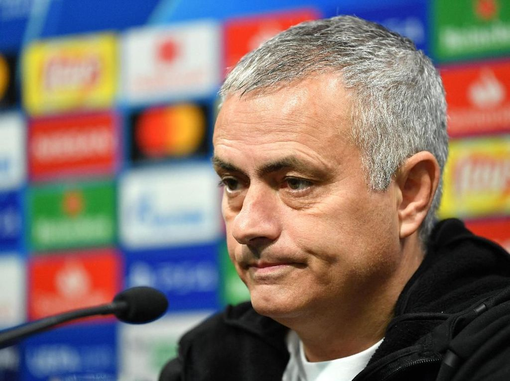 Hasil Tak Oke Jose Mourinho di Laga Leg Pertama Liga Champions