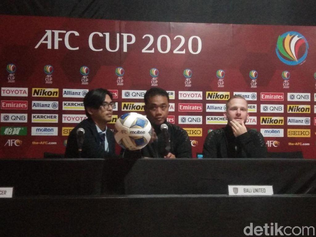 Bali United Mau Jadi Tuan Rumah, Tapi Nasib Piala AFC Tanda Tanya