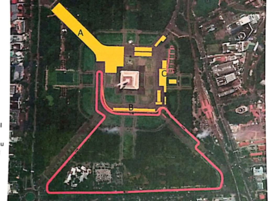 Ini Dia! Desain Sirkuit Formula E Jakarta