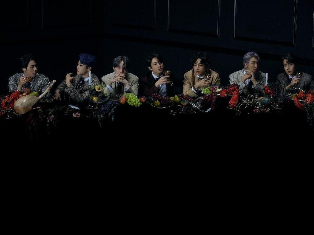 Perjamuan Besar dengan BTS di Teaser Foto Map of the Soul: 7