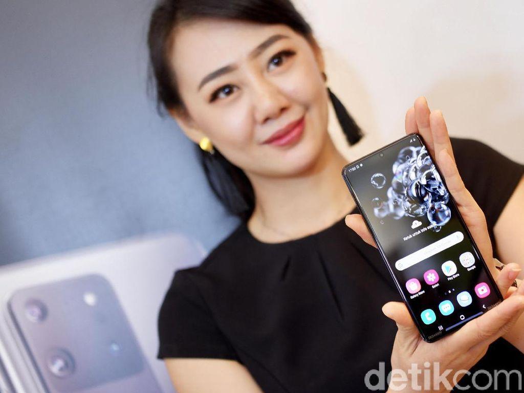 Galaxy S20 Ultra Pakai Layar Dynamic AMOLED 2X, Apa Keunggulannya?