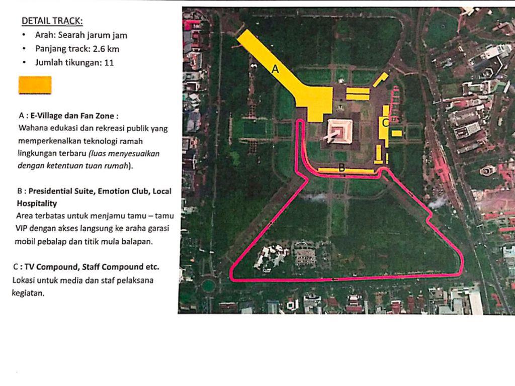 Megawati Pertanyakan Formula E di Monas, JakPro Tegaskan Rencana Tetap Jalan