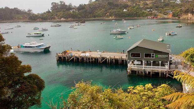 Oban, satu-satunya pemukiman di Stewart Island