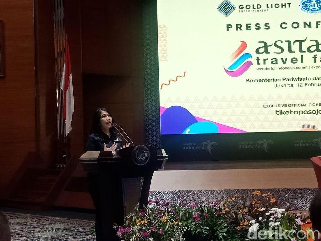 34 Provinsi di Indonesia Gelar Lapak Wisata di Asita Travel Fair