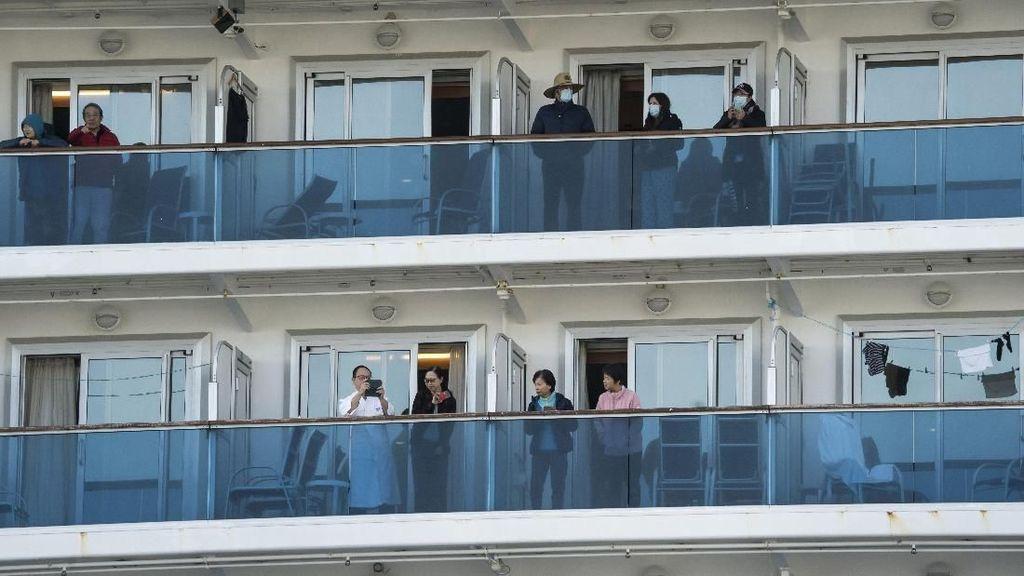 Infeksi Corona di Kapal Pesiar Jepang Bertambah jadi 175 Orang