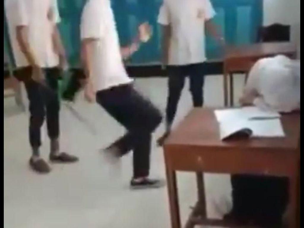 3 Siswa yang Viral Pukul dan Tendangi Siswi SMP di Purworejo Diamankan!