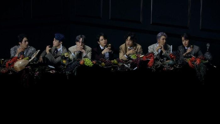 Foto konsep BTS untuk album Map of The Soul: 7.