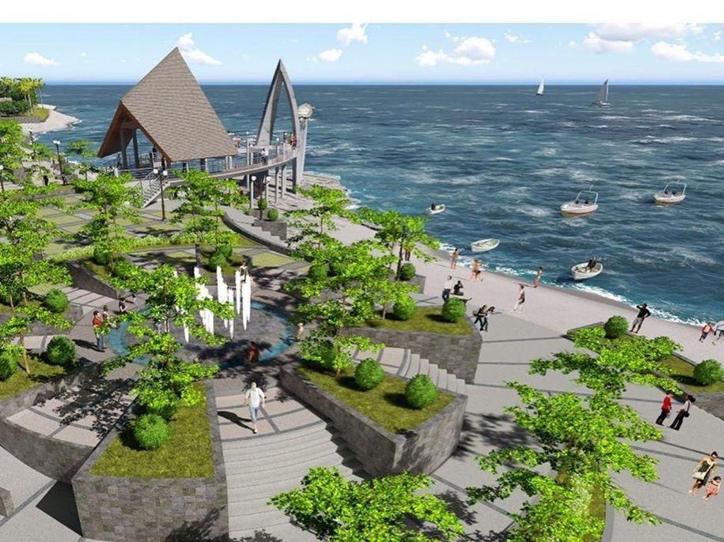Wajah Cantik Pelabuhan Ratu... di Masa Depan
