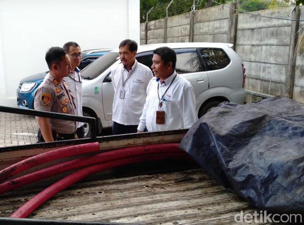 Polisi Amankan Maling Kabel PLTU Suralaya