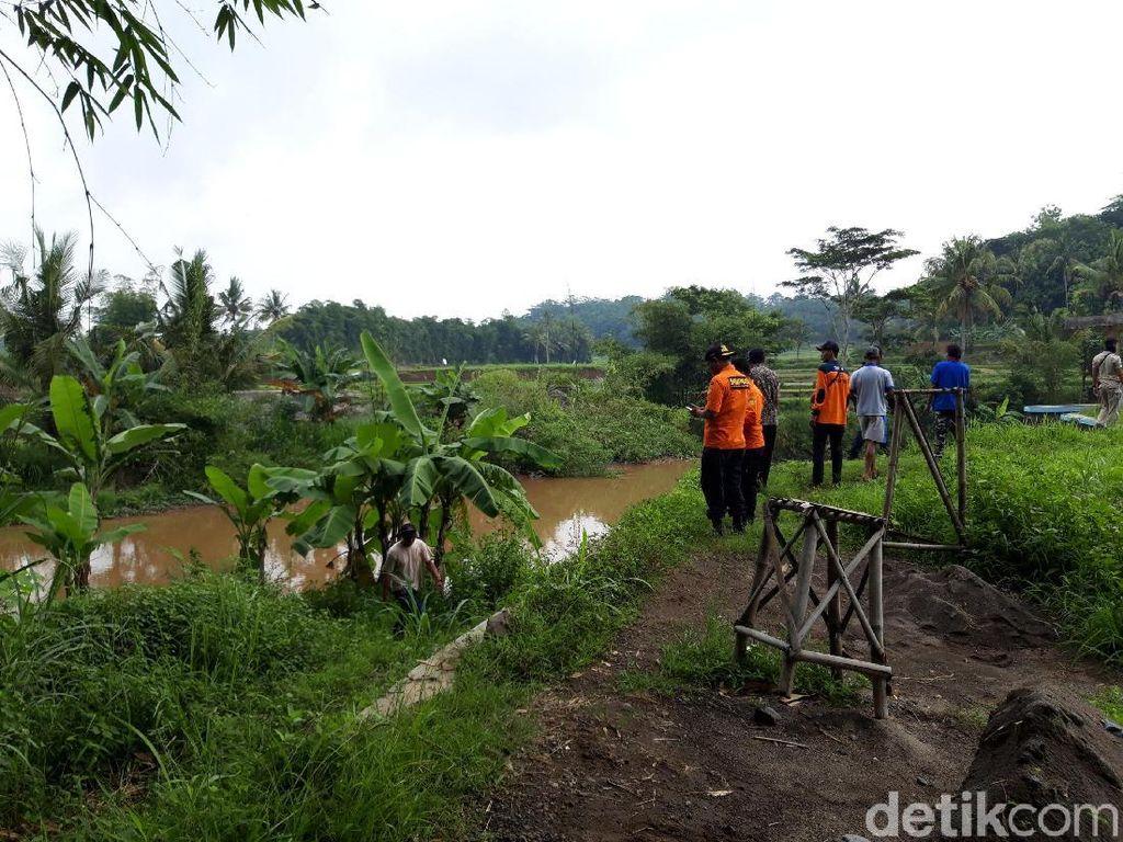 Mbah Joko Hilang Diduga Hanyut di Sungai Pepe Boyolali