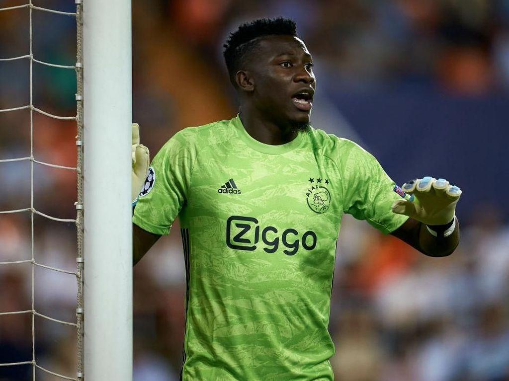 Diincar Chelsea dan Barca, Andre Onana Siap Tinggalkan Ajax
