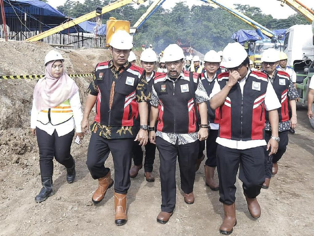 Wali Kota Semarang Pantau Progres Pembangunan SPAM