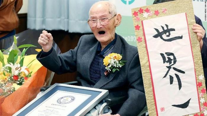 Rahasia Panjang Umur Watanabe, Insan Usia 112 Tahun