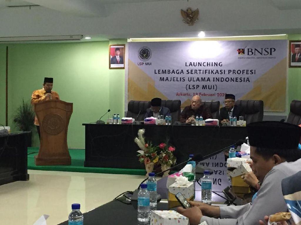 MUI Luncurkan Lembaga Sertifikasi Profesi Auditor Halal-Pengawas Syariah