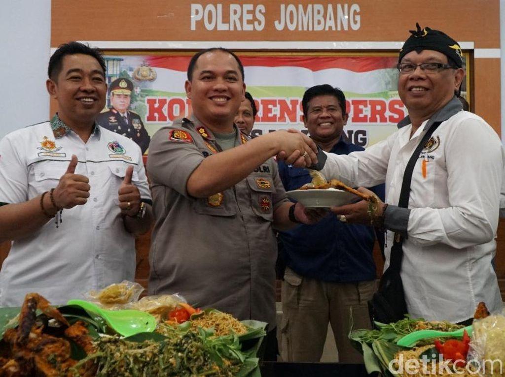 Kejutan Kapolres Jombang untuk Wartawan di Peringatan Hari Pers Nasional