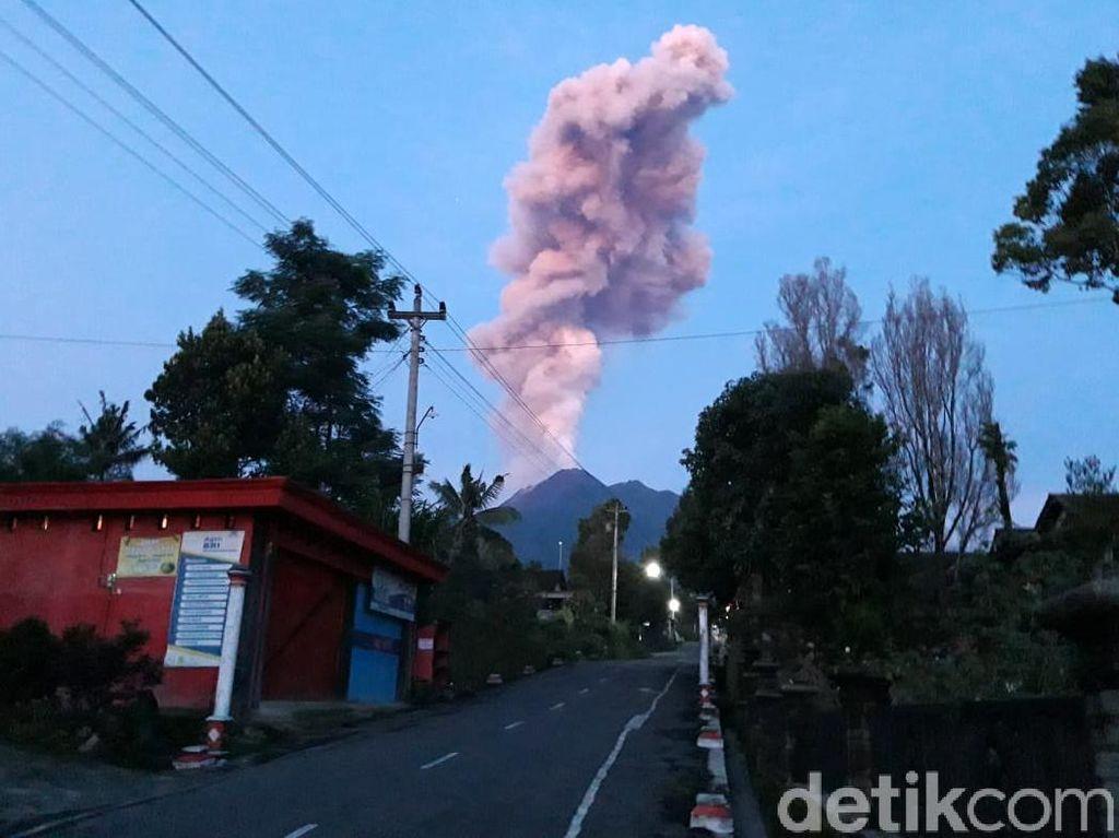 Gunung Merapi Erupsi Lagi, Ini Informasi Lengkapnya