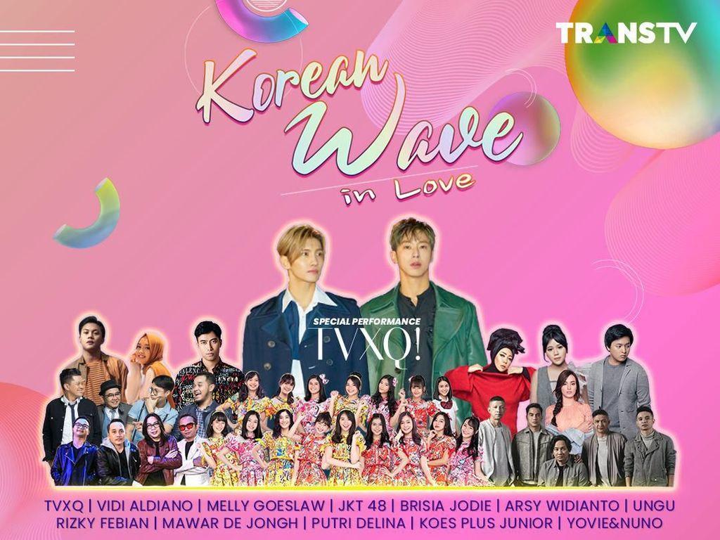 Tonton Korean Wave in Love, Ada TVXQ di Sini!