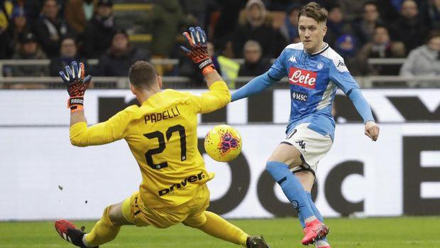 Tanpa Handanovic, Padelli Kesulitan Jaga Gawang Inter Milan