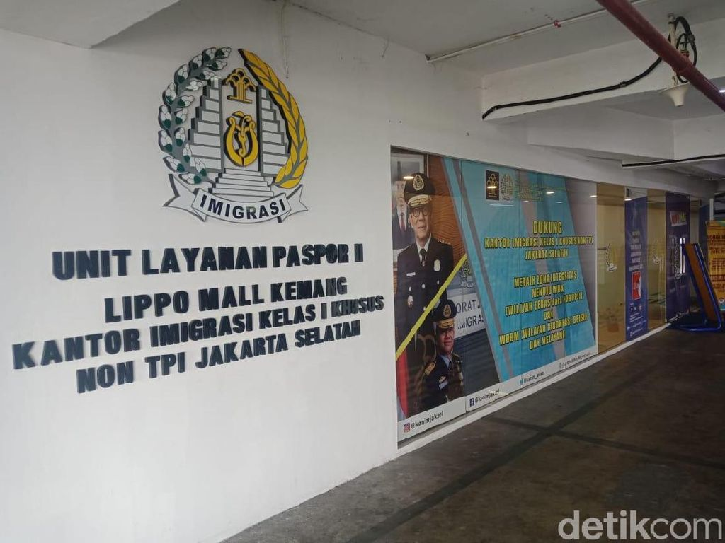 Bikin Paspor Tak Sampai 30 Menit di Lippo Mall Kemang