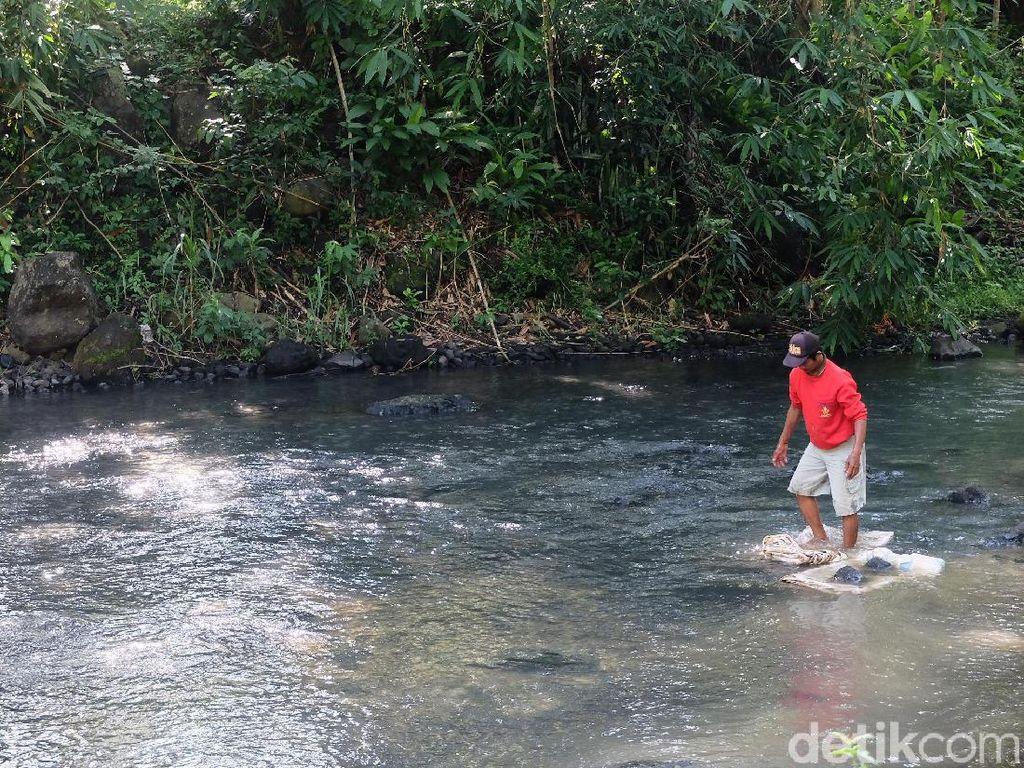 Sempat Tetiba Keruh dan Berbau, Sungai di Kulon Progo Kembali Jernih