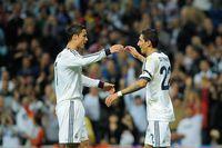 Angel Di Maria bersama Cristiano Ronaldo (Gonzalo Arroyo Moreno/Getty Images)
