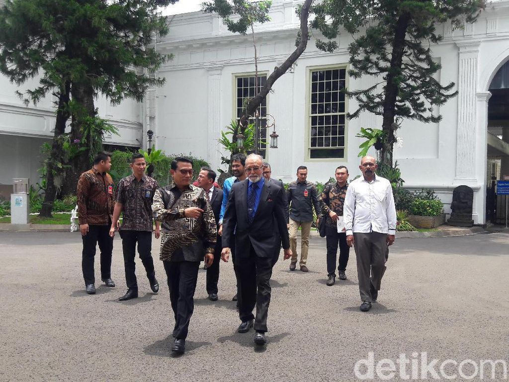 Jokowi Bertemu Eks Petinggi GAM, Bahas soal MoU Helsinki