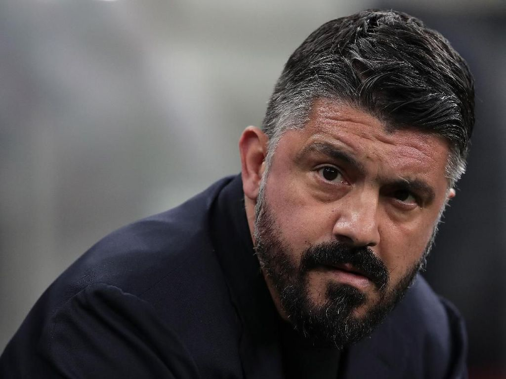 Geramnya Gattuso Usir Lozano saat Latihan