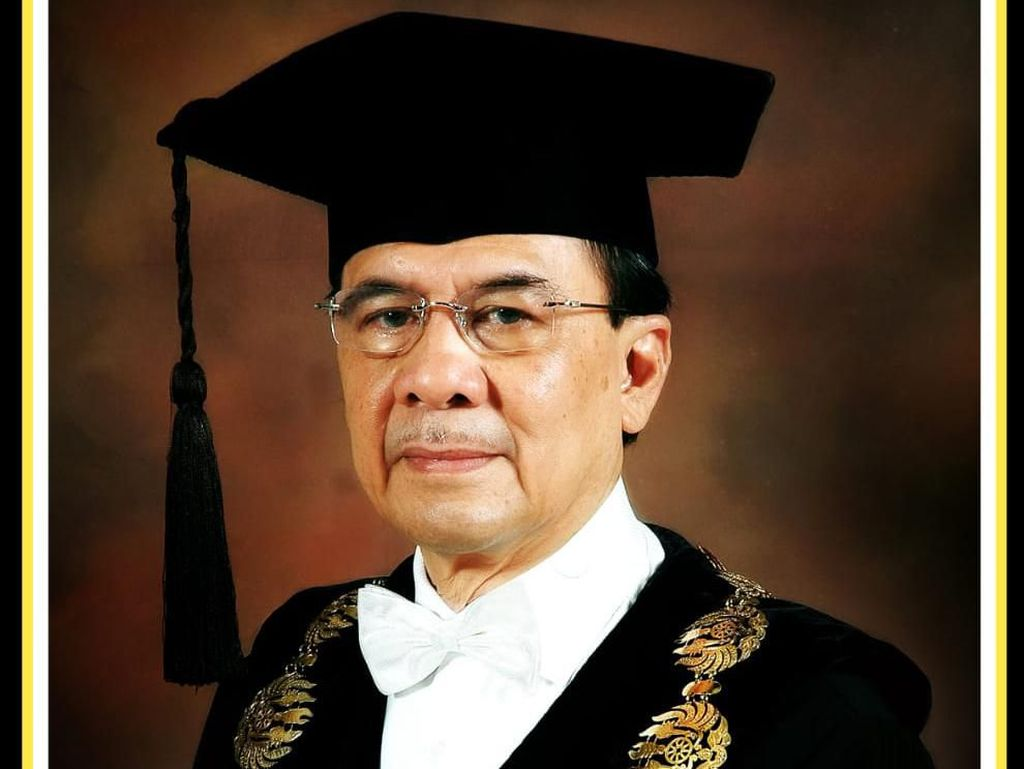 Mantan Rektor Unpad Himendra Wargahadibrata Tutup Usia