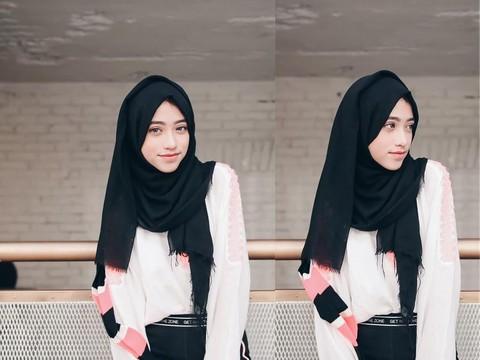 Biar Tetap Terlihat Muda Dan Stylish Gaya Hijab Ala Selebgram Shirin Ini Bisa Kamu Tiru
