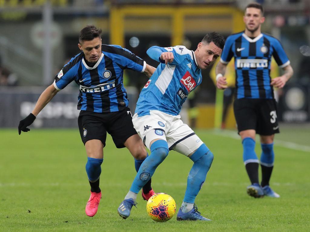 Napoli Vs Inter Resmi Ditunda Akibat Virus Corona