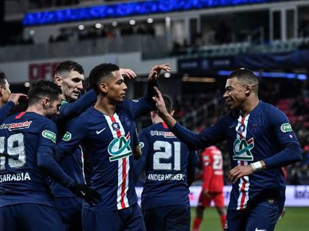 Dijon Vs PSG: Tanpa Neymar, Les Parisiens Menang 6-1