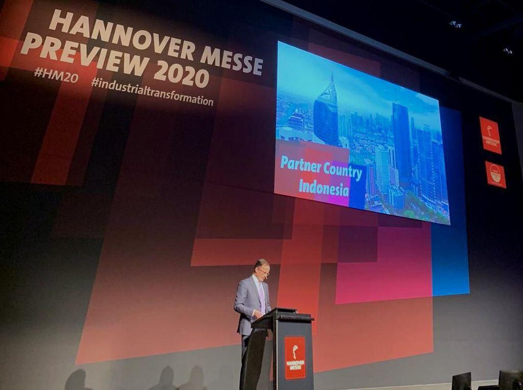 CEO Deutche Messe AG Tegaskan Pentingnya Indonesia Jadi Mitra Hannover Messe