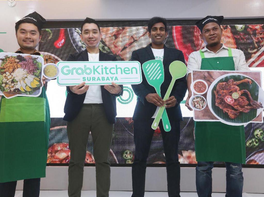 Grab Luncurkan 5 GrabKitchen di Surabaya