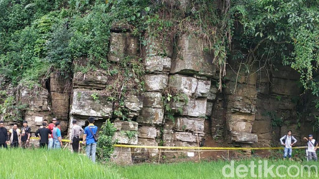 Batu Susun Rompe, Calon Destinasi Baru di Ciamis