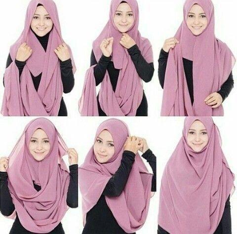 Tanpa Ribet Coba Tutorial Hijab Syar I Yang Kurang Dari 5 Menit Ini