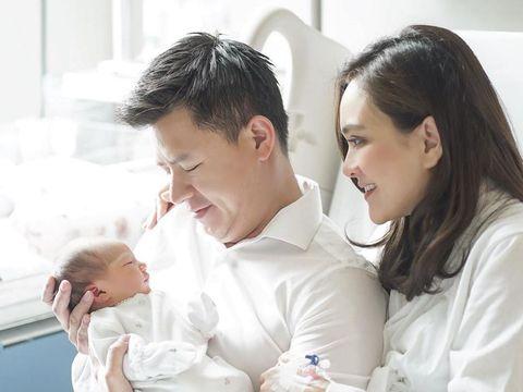 Baru Lahir Hidung Anak Shandy Aulia Curi Perhatian Netizen