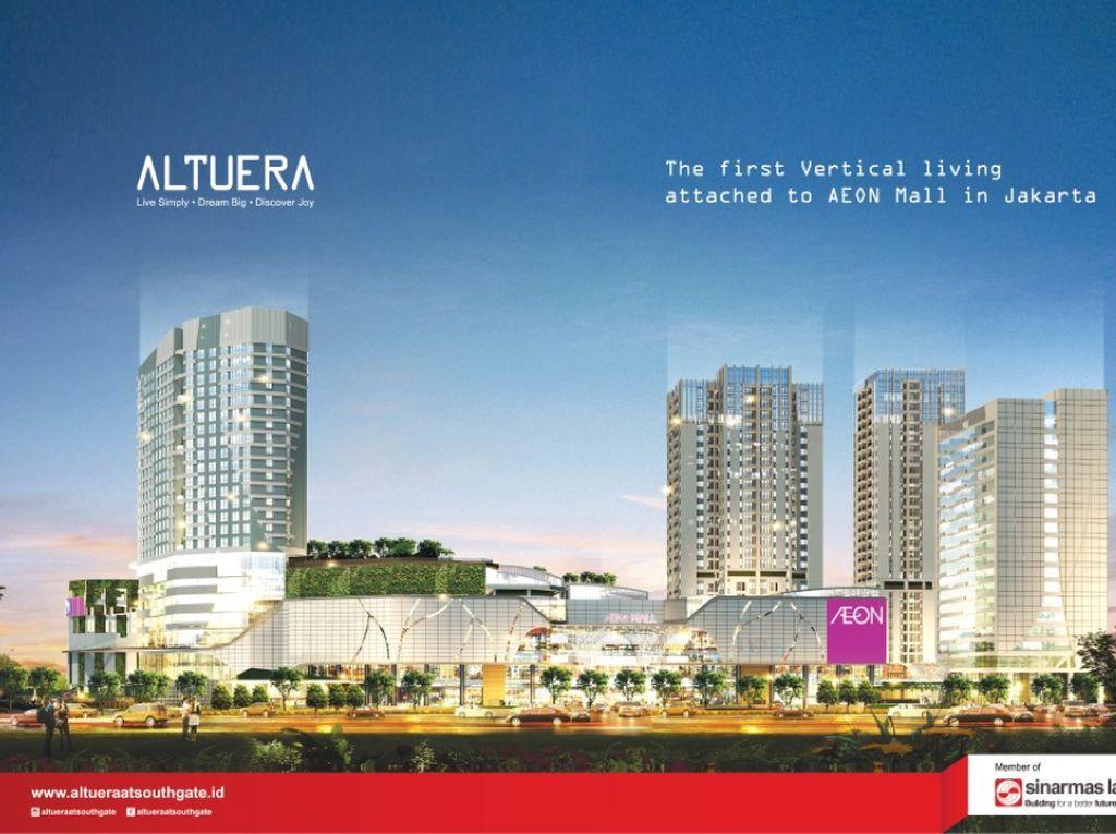 Ini Apartemen Rp 900 Jutaan Akses Langsung ke AEON Mall Jaksel